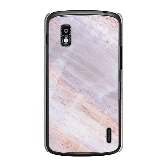 Nexus 4 Cases - Charoite Purple Marble Stone