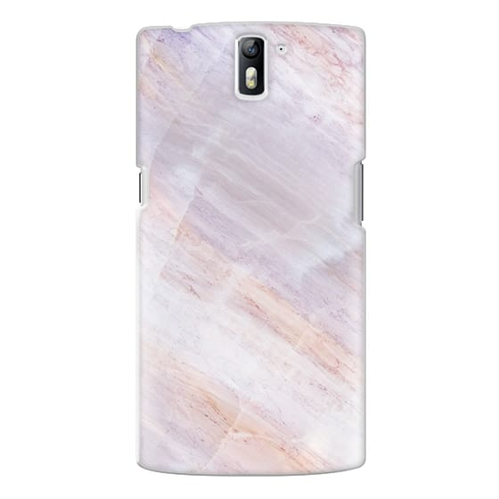 One Plus One Cases - Charoite Purple Marble Stone