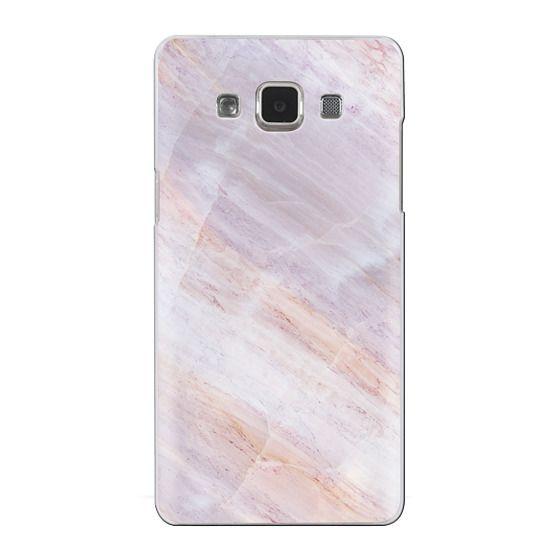 Samsung Galaxy A5 Cases - Charoite Purple Marble Stone