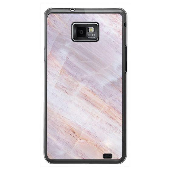 Samsung Galaxy S2 Cases - Charoite Purple Marble Stone