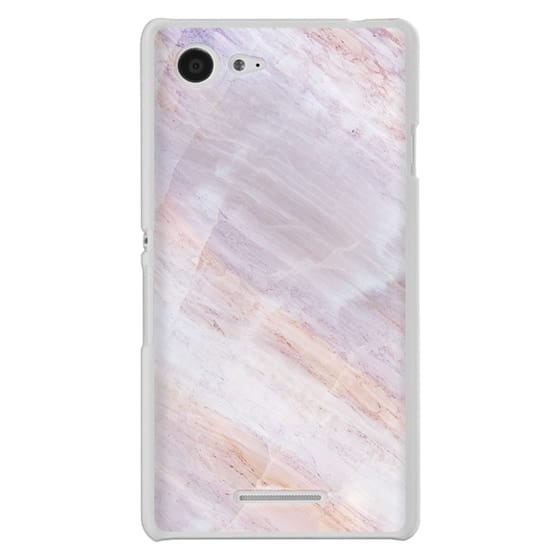 Sony E3 Cases - Charoite Purple Marble Stone