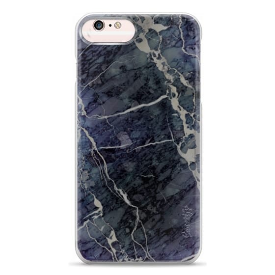 iPhone 6s Plus Cases - Blue Stone Marble