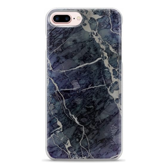 iPhone 7 Plus Cases - Blue Stone Marble