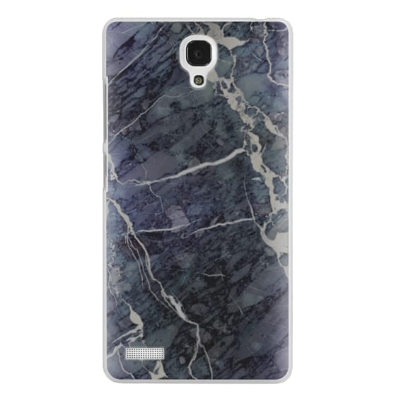 Redmi Note Cases - Blue Stone Marble