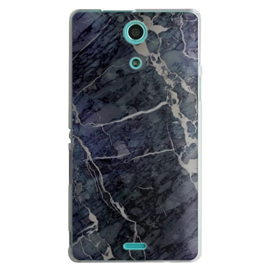 Sony Zr Cases - Blue Stone Marble