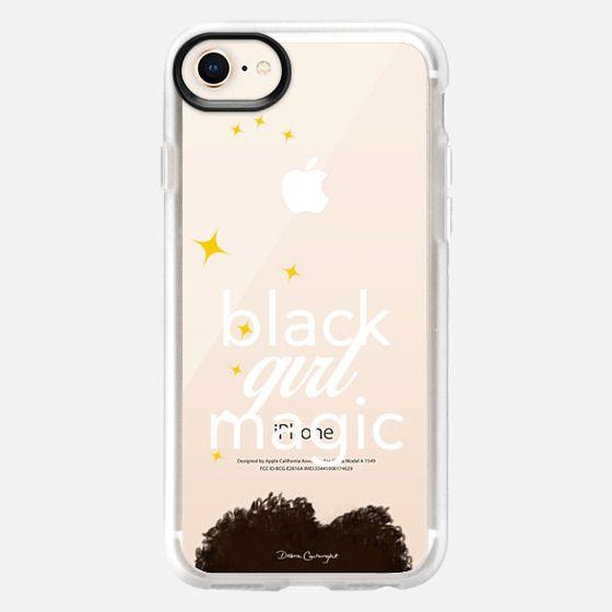 black girl magic - Snap Case