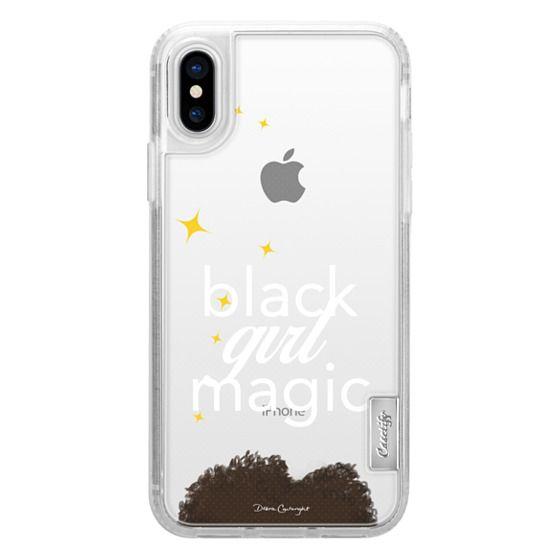 cheaper dccb5 4b705 Classic Grip iPhone X Case - black girl magic