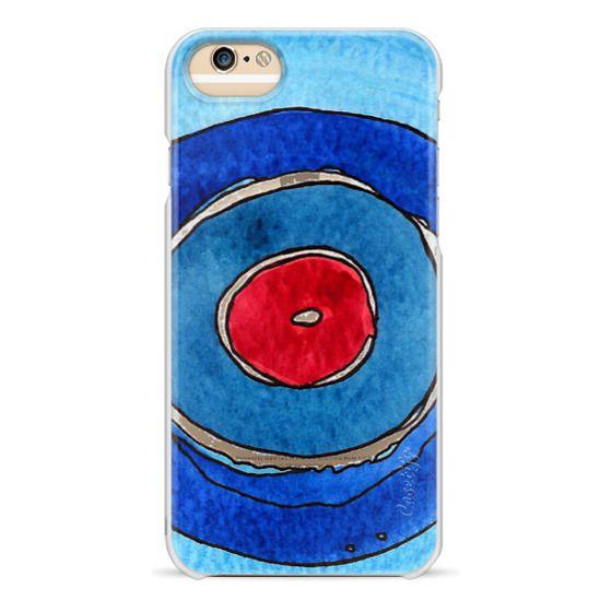 factory price 79ecf b9d5a Classic Grip iPhone 8 Case - Red Circle transparent iPhone case