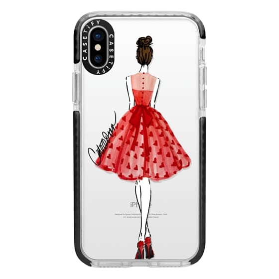 iPhone X Cases - The Princess of Hearts