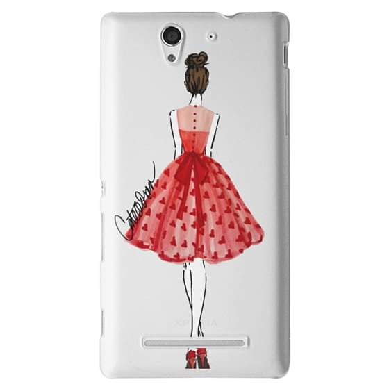 Sony C3 Cases - The Princess of Hearts
