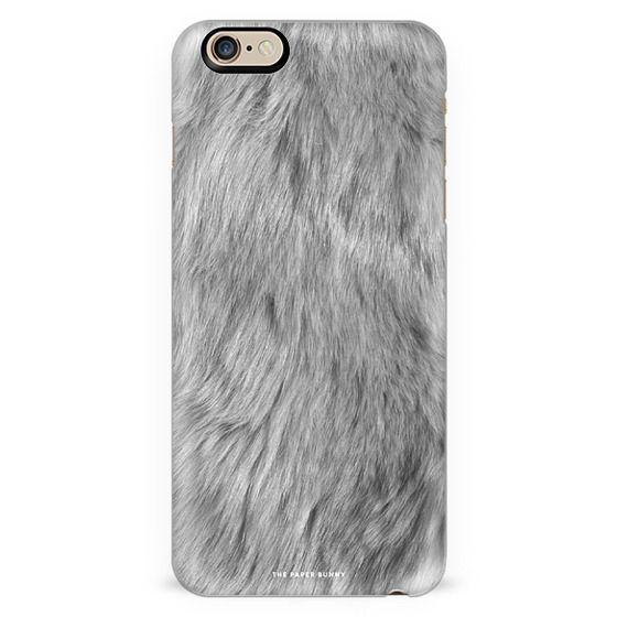 Grey Fur Luxe