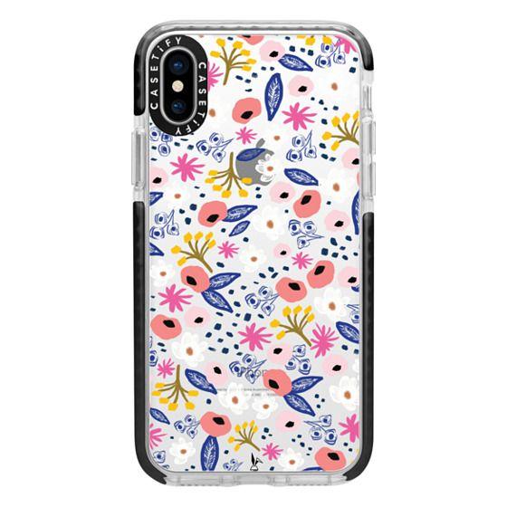 iPhone X Cases - Spring Florals