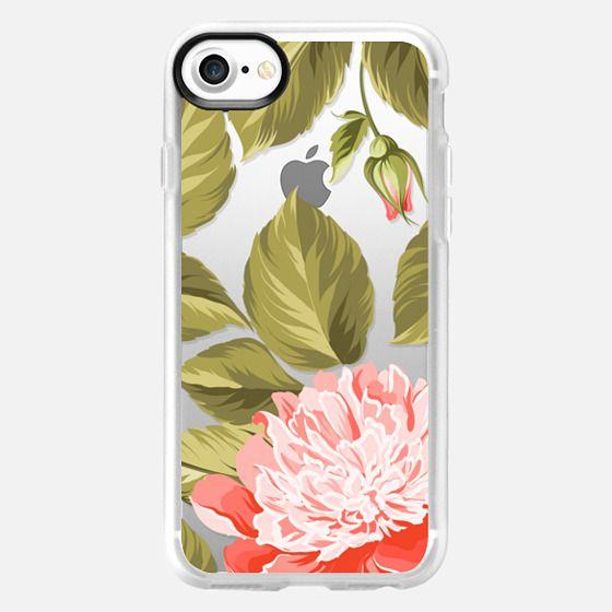 Pretty Floral - Botanical Garden Tropical Flowers - Classic Grip Case
