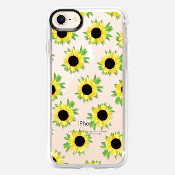 Watercolor Sunflower Blooms - Watercolor Floral Rustic - Snap Case