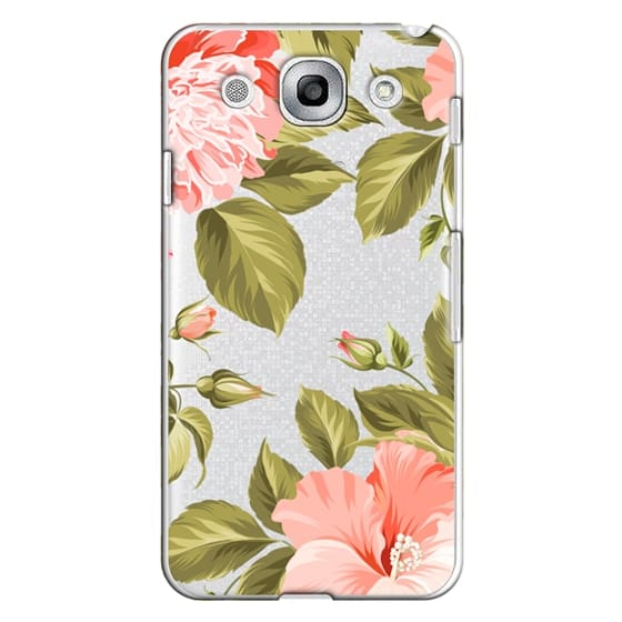 Optimus G Pro Cases - Peach Tropical Flowers - Beach Floral