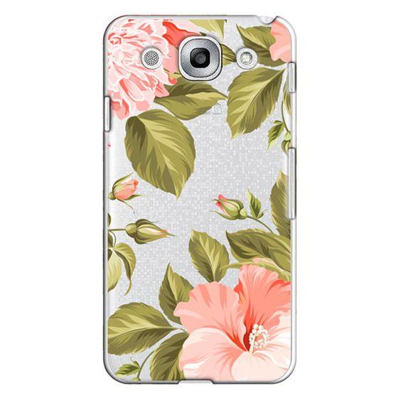 Optimus G Pro Cases - Peach Tropical Flowers - Beach Floral