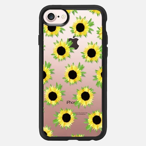 Watercolor Sunflower Blooms - Watercolor Floral Rustic - Classic Grip Case
