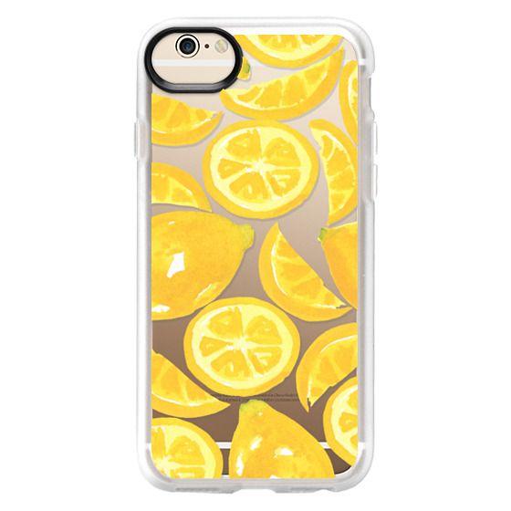 iPhone 6 Cases - Watercolor Lemon Fruit - Citrus Yellow Tropical Fruit