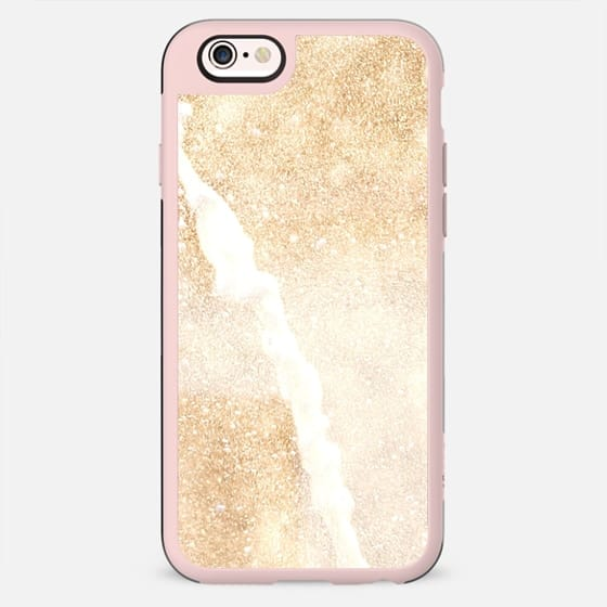 Glittery Golden Champagne - New Standard Case
