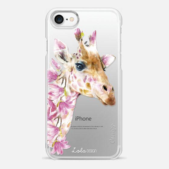 Wildlife botanical Giraffe - Snap Case