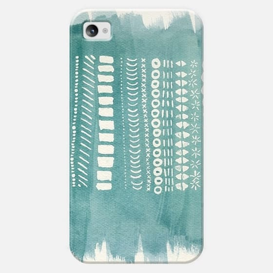 Patterned Paint strokes  - Classic Snap Case