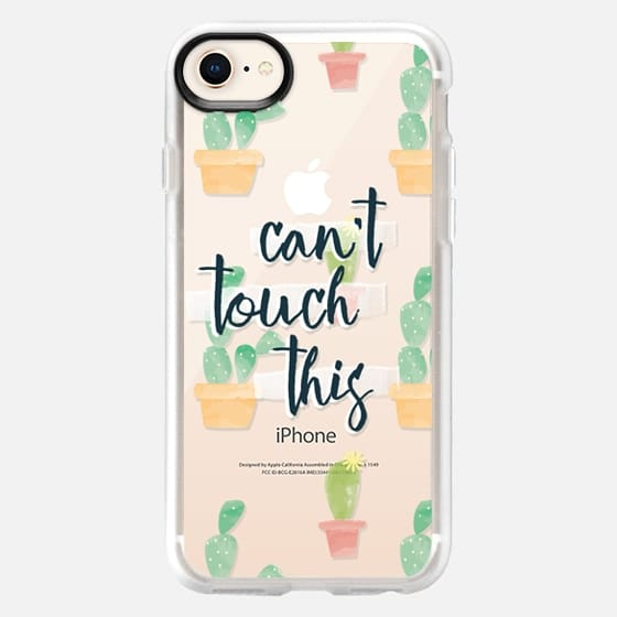 cactus can't touch this - Snap Case