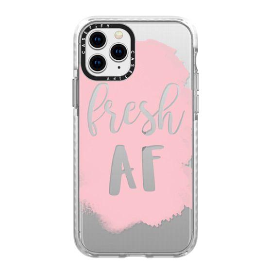 iPhone 11 Pro Cases - fresh af in pink