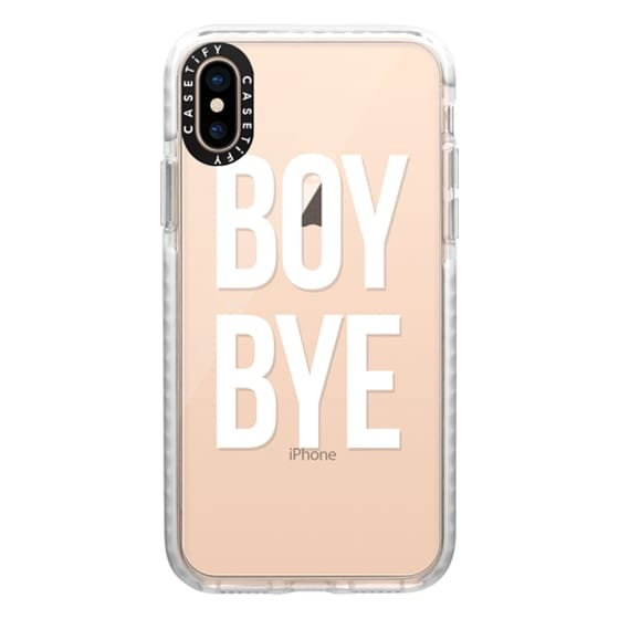 iPhone XS Cases - boy bye