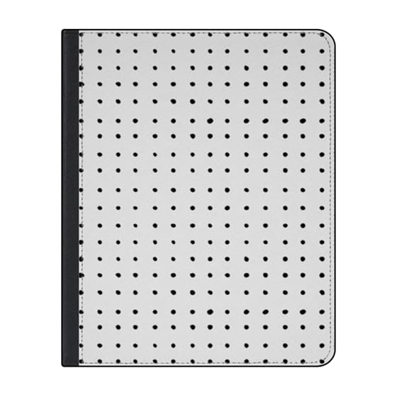 12.9-inch iPad Pro (2018) Covers - Dot in a Lovestack // b&w