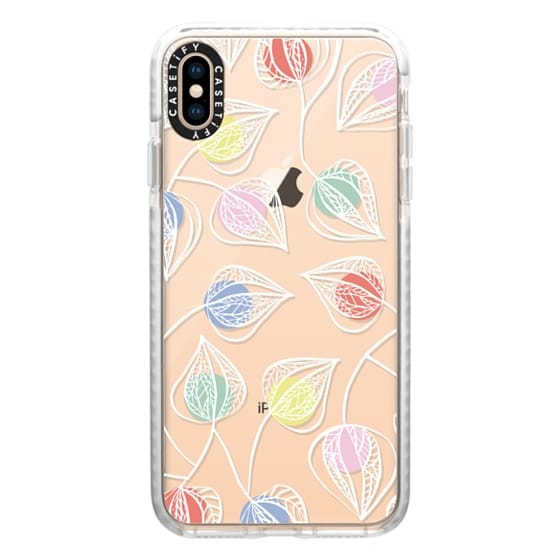 iPhone XS Max Cases - Love in a Cage (white)