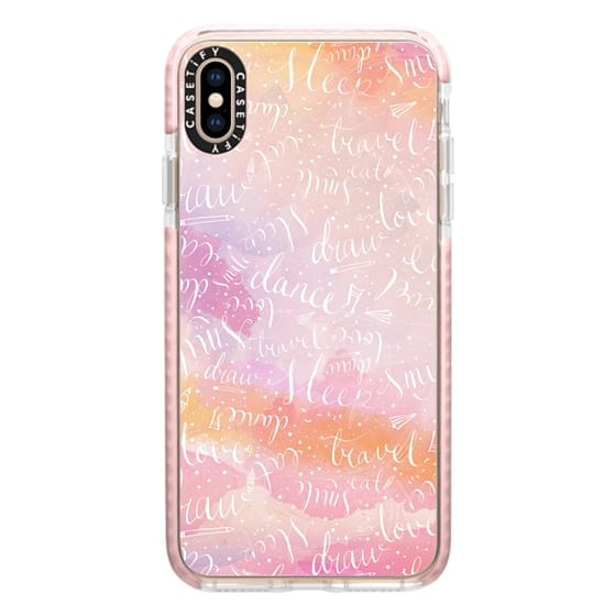 iPhone XS Max Cases - Life Must-Do's // summer