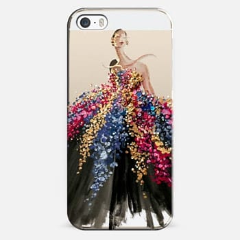 iPhone 5s Case Blooming Gown
