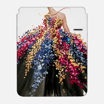 "iPad Pro 12.9"" Sleeve Blooming Gown"