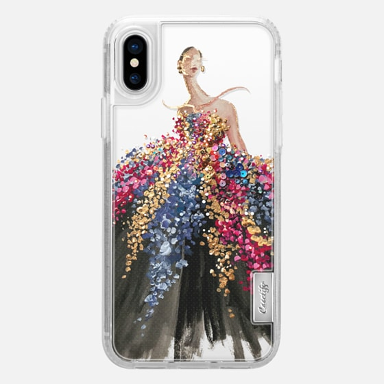 iPhone X Case - Blooming Gown