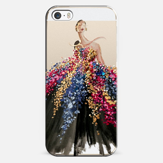 iPhone 5s Case - Blooming Gown