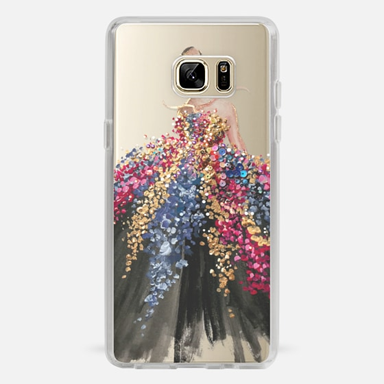 Galaxy Note 7 Hülle - Blooming Gown