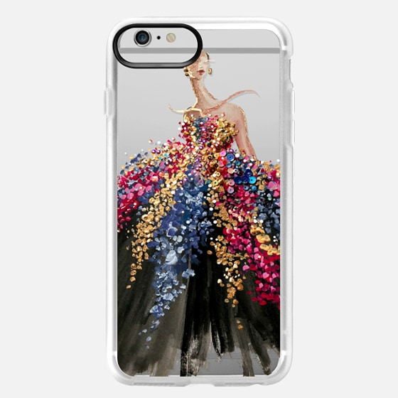 iPhone 6 Plus Case - Blooming Gown