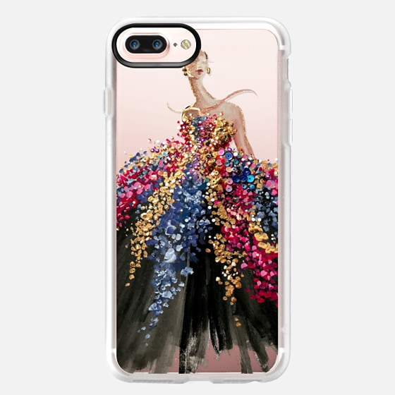 iPhone 7 Plus Coque - Blooming Gown