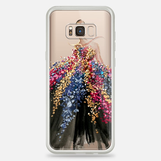 Galaxy S8+ เคส - Blooming Gown