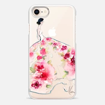 iPhone 8 Case Paper Fashion x Rose Gown