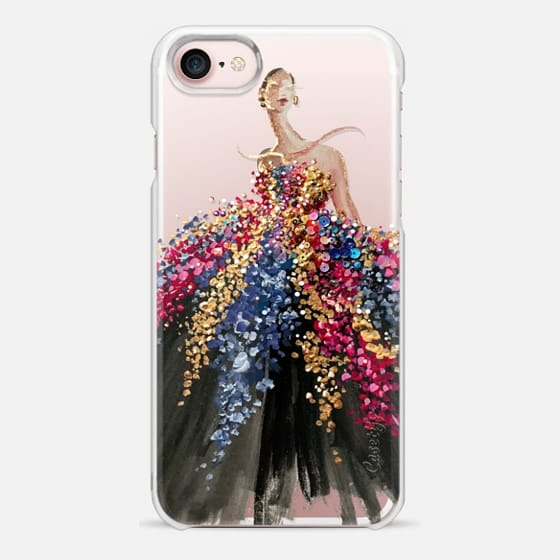 iPhone 7 Capa - Blooming Gown