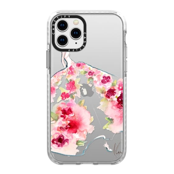 iPhone 11 Pro Cases - Paper Fashion x Rose Gown