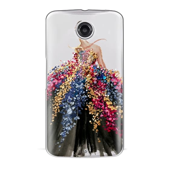 Nexus 6 Cases - Blooming Gown