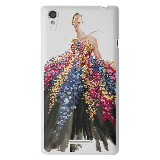 Sony T3 Cases - Blooming Gown
