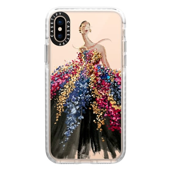 iPhone XS Cases - Blooming Gown