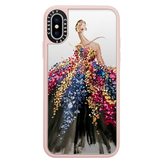 iPhone X Cases - Blooming Gown