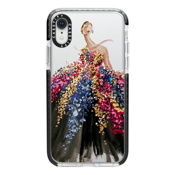 iPhone XR Cases - Blooming Gown