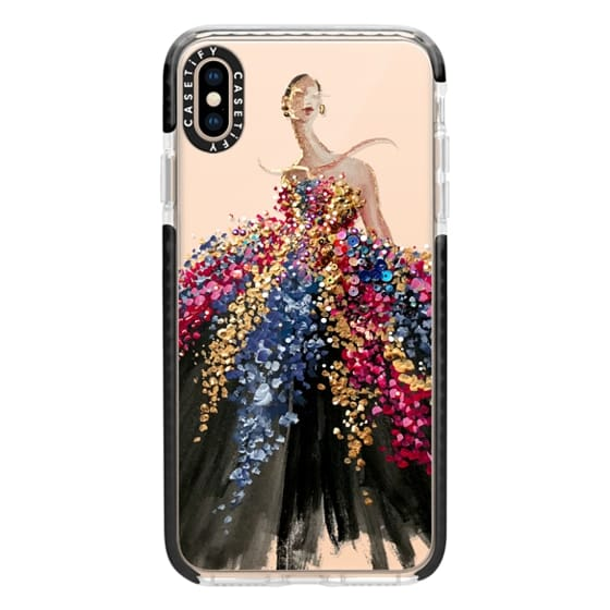 iPhone XS Max Cases - Blooming Gown