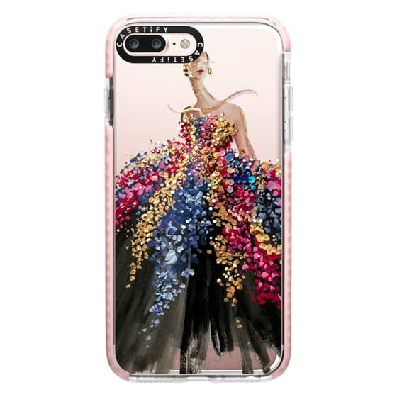 iPhone 7 Plus Cases - Blooming Gown