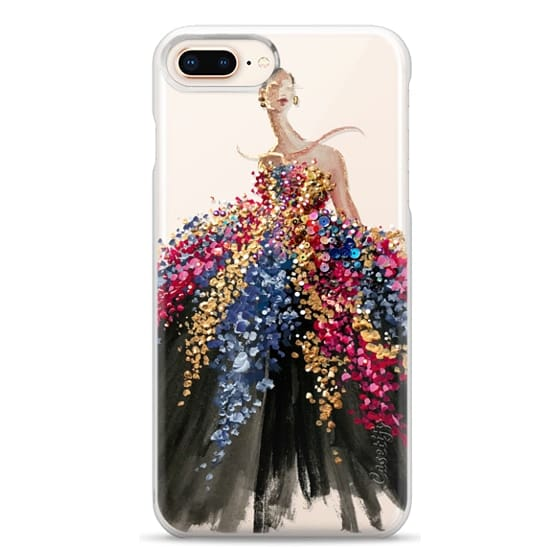 iPhone 8 Plus Cases - Blooming Gown